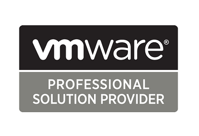 Our staff are also experienced, trained and certified in VMware and as such we are a VMware Professional Partner.